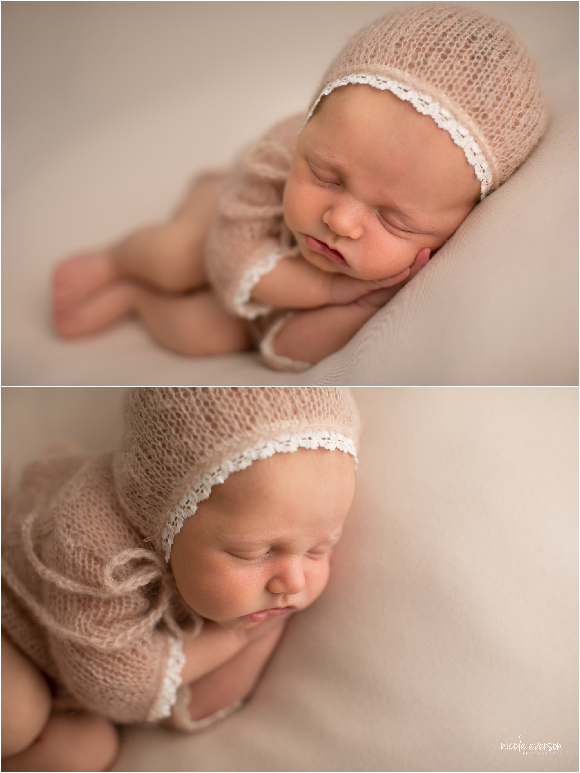 newborn photography with Nicole Everson Photography
