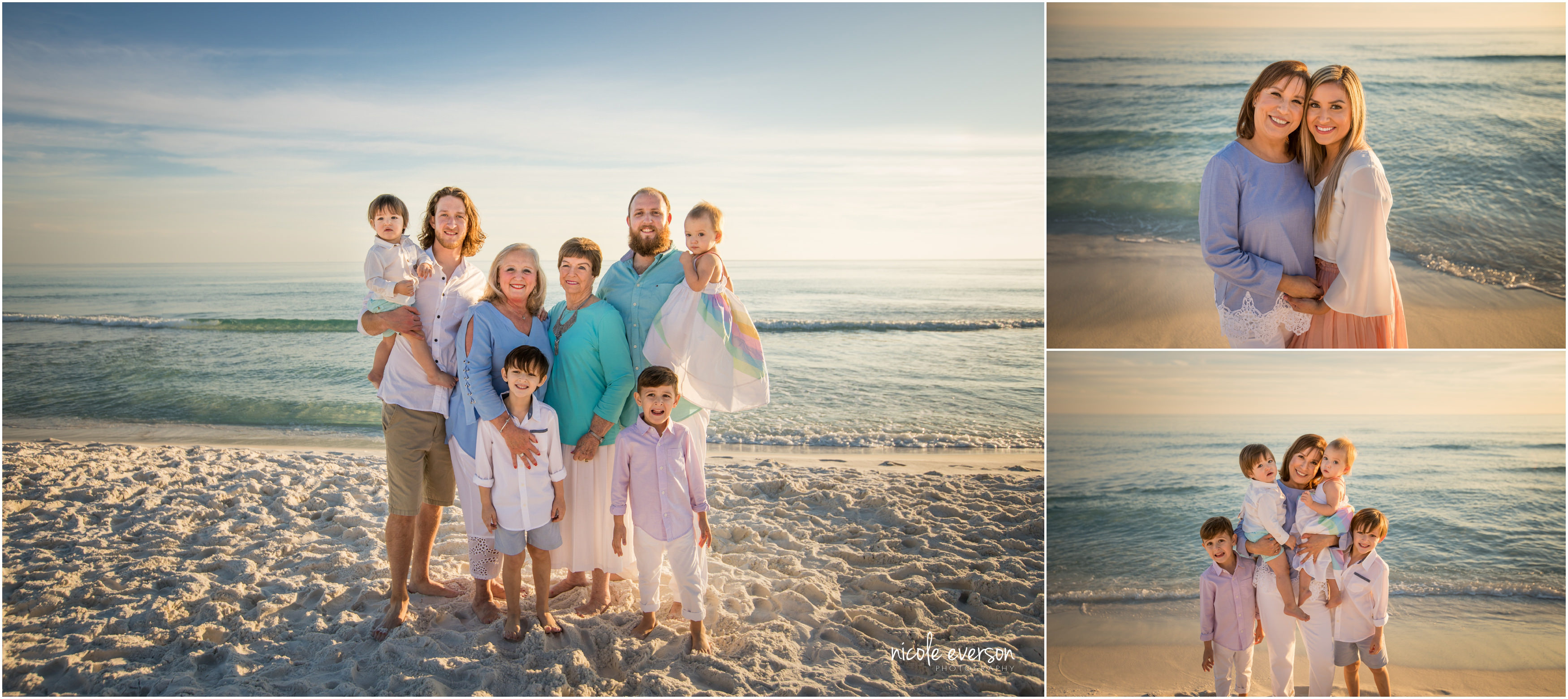 sunset beach photography session