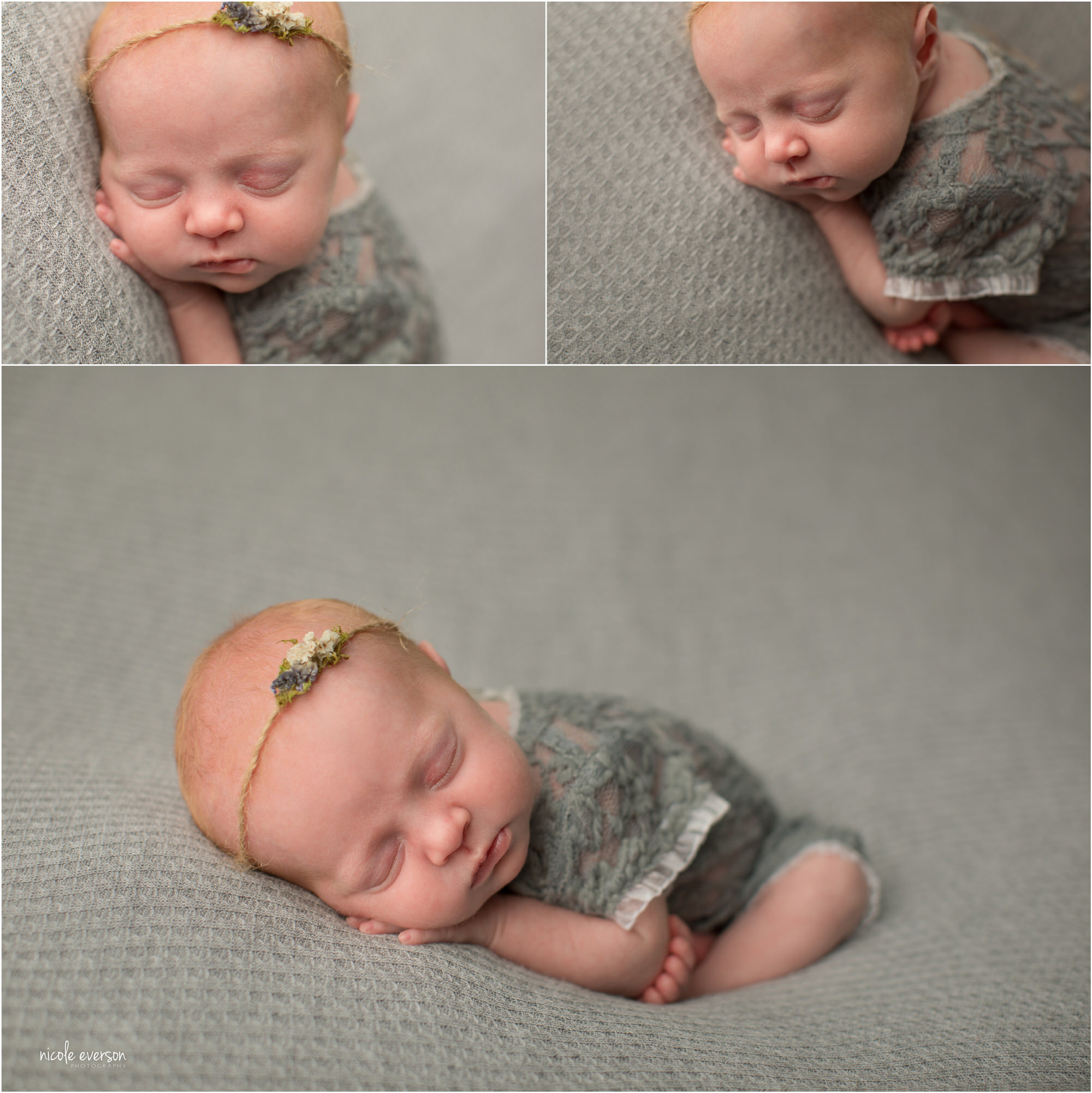 newborn pictures by Nicole Everson Photography