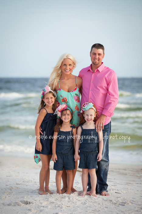 Panama city beach seaside beach florida family photographer