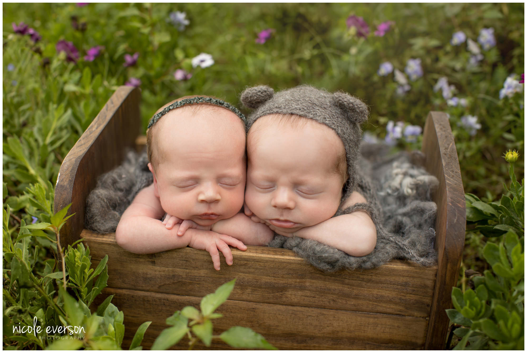twin newborn photos dothan