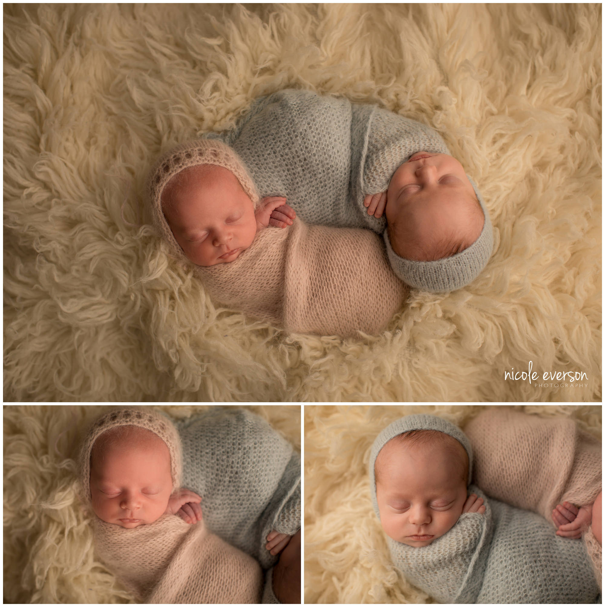 twin newborn pictures in Dothan Alabama