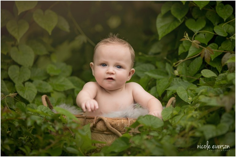 baby boy photographed naked in Ivey