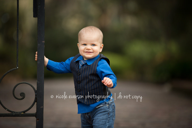 Tallahassee Florida mc clay gardens baby photographer