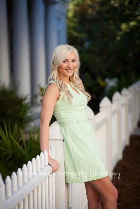 Panama City beach Florida senior photographer nicole Everson photography