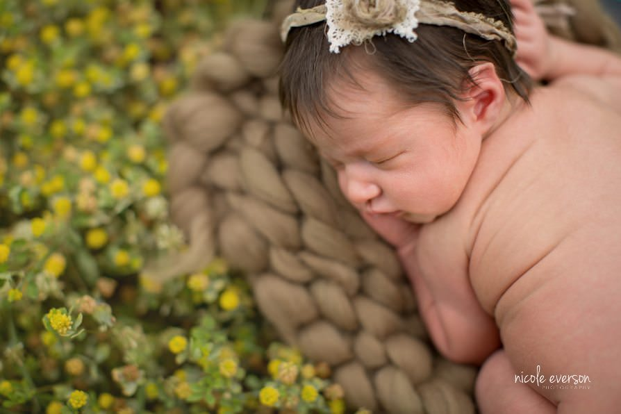 rustic newborn photographer