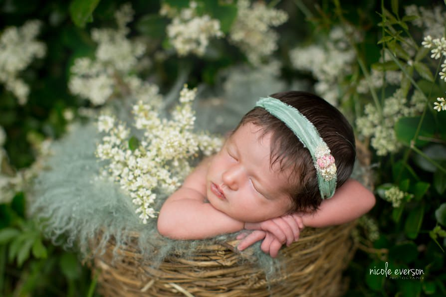 Sweet newborn photography