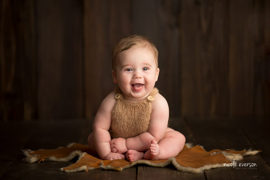 A bright, bright, sun-shiny smile | Westville, Florida Baby Photographer