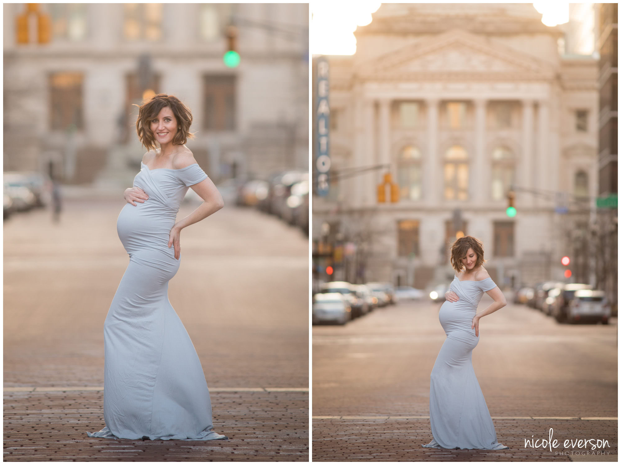 Tallahassee city maternity photos