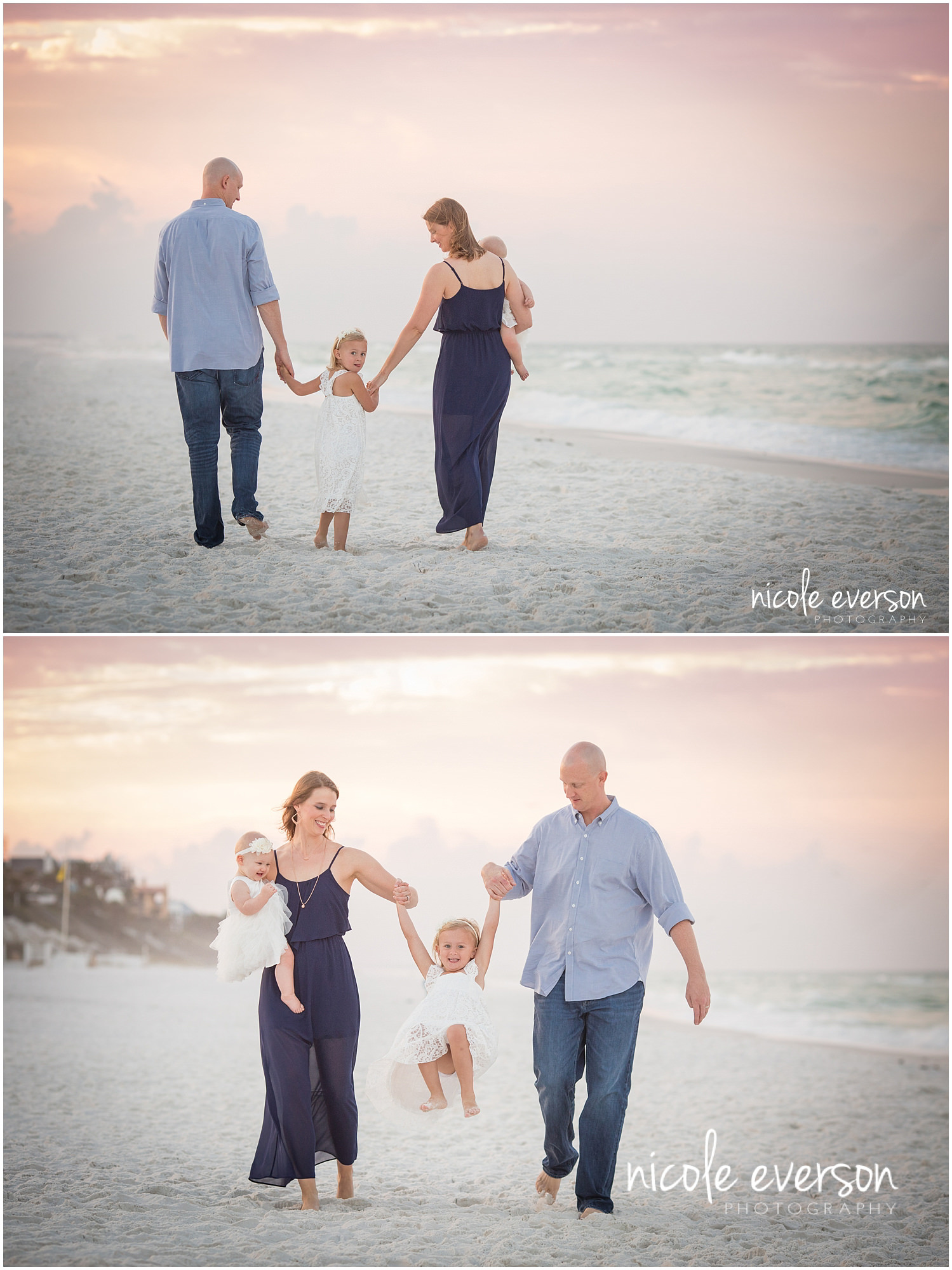 fun beach photos photographed seaside FL by Nicole Everson Photography