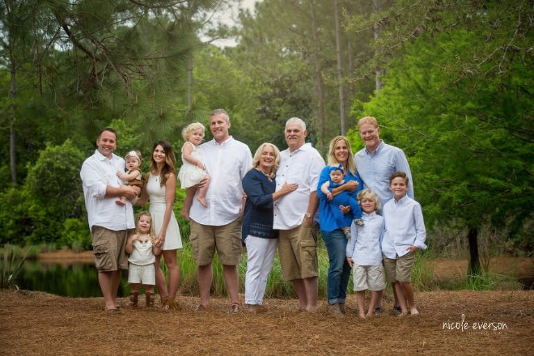 A Family of Generational Love Chipley, FL Family Photographer