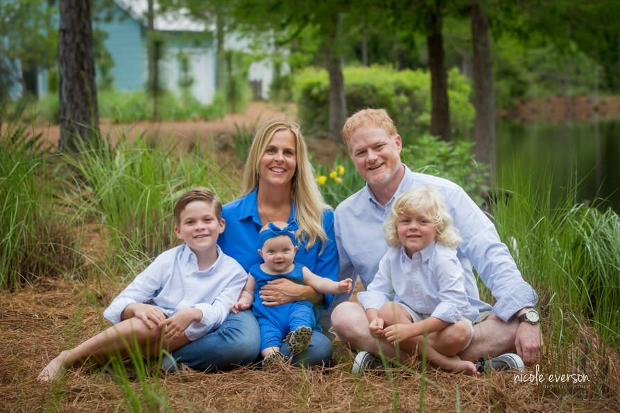 Holiday family photographer florida