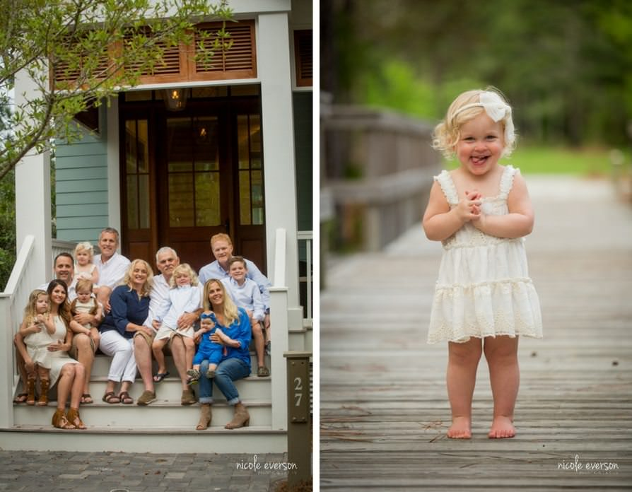Multi generational family photographer