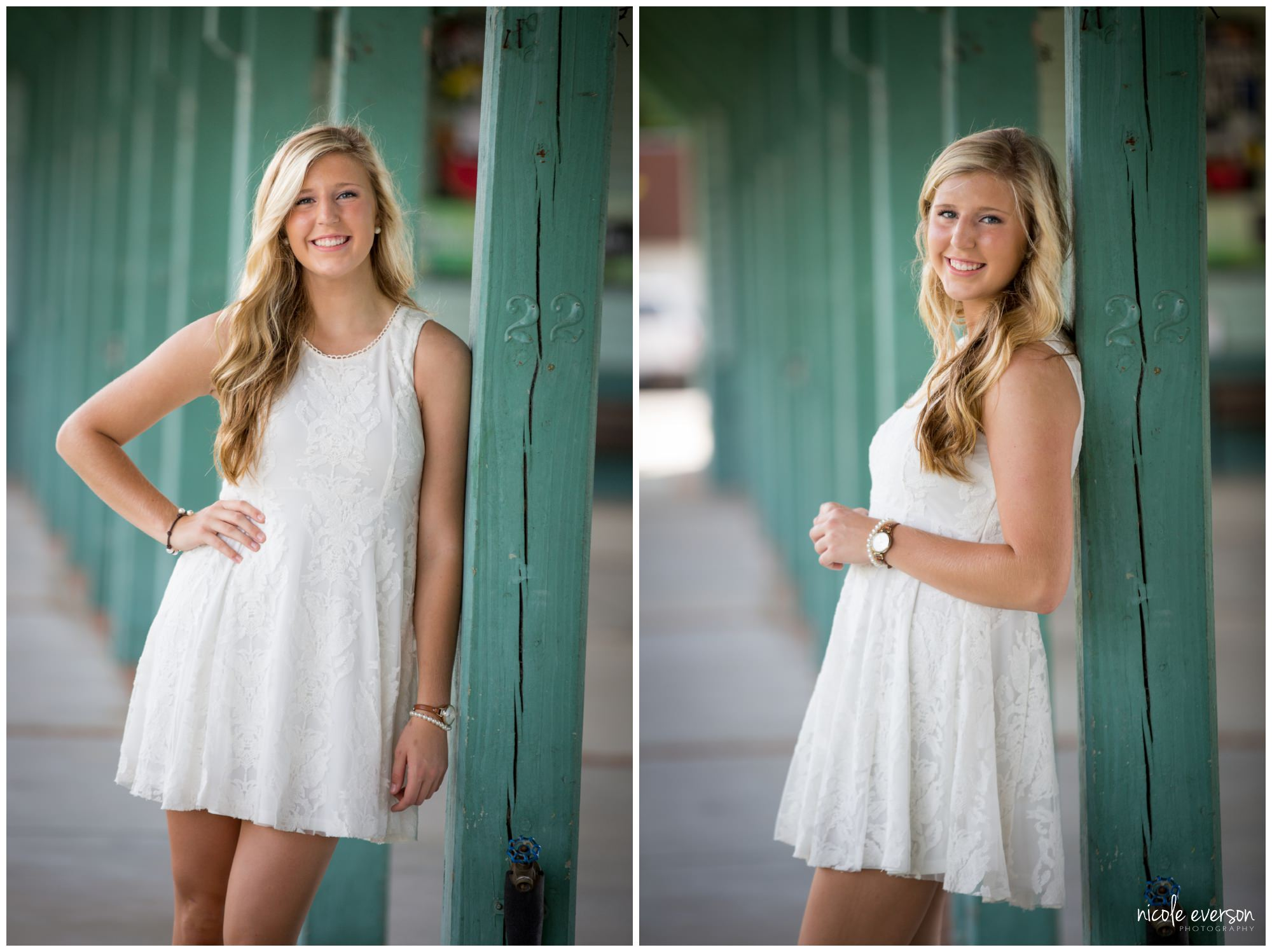 Senior Photography White Dress