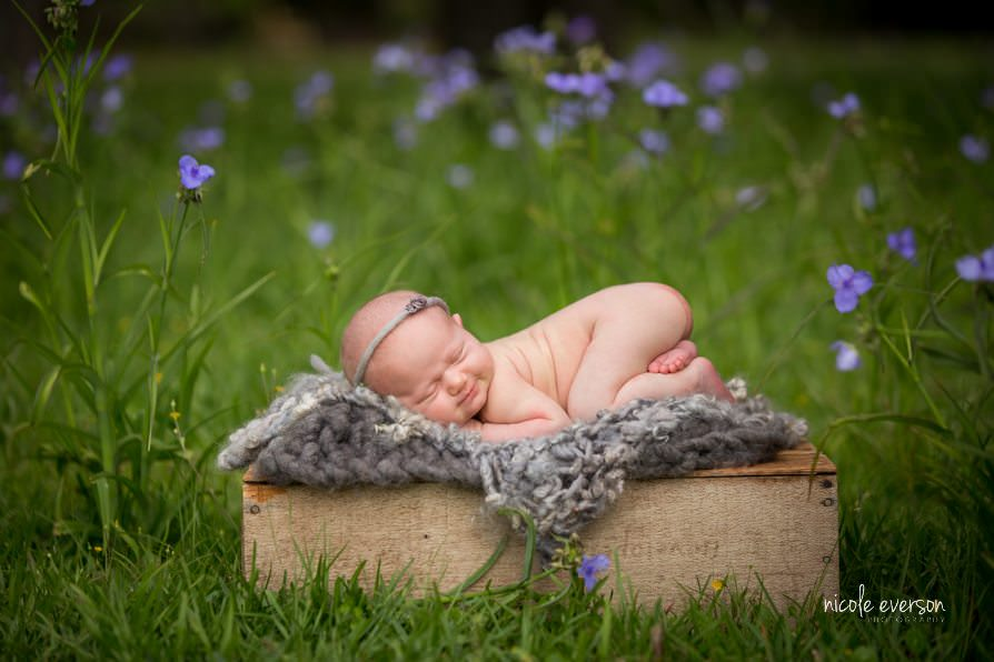 Flower Child | Enterprise, AL Newborn Photographer