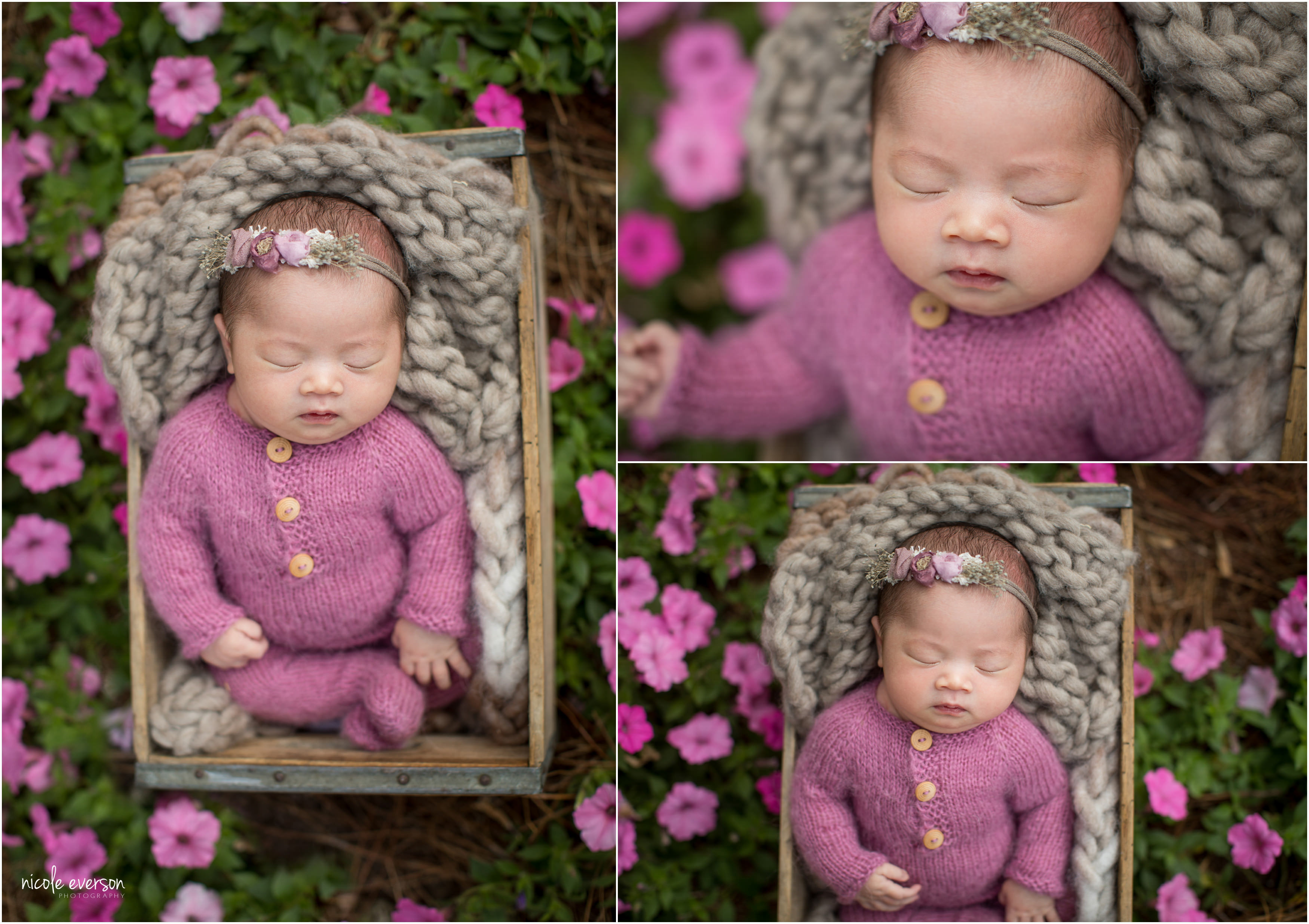 newborn photography outside dothan