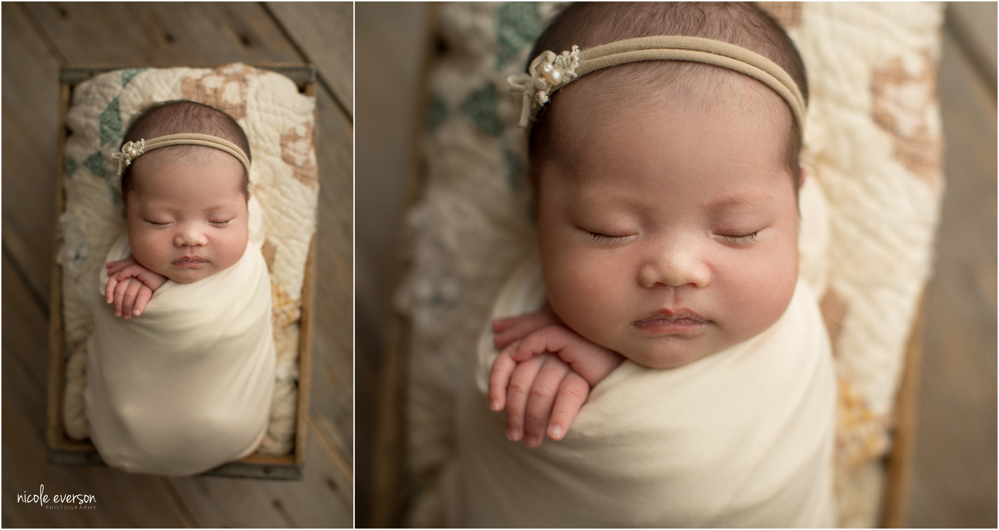 beautiful Asian newborn photos