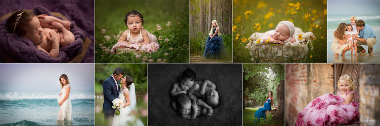 collection of pictures from Nicole Everson Photography taken in Tallahassee Florida