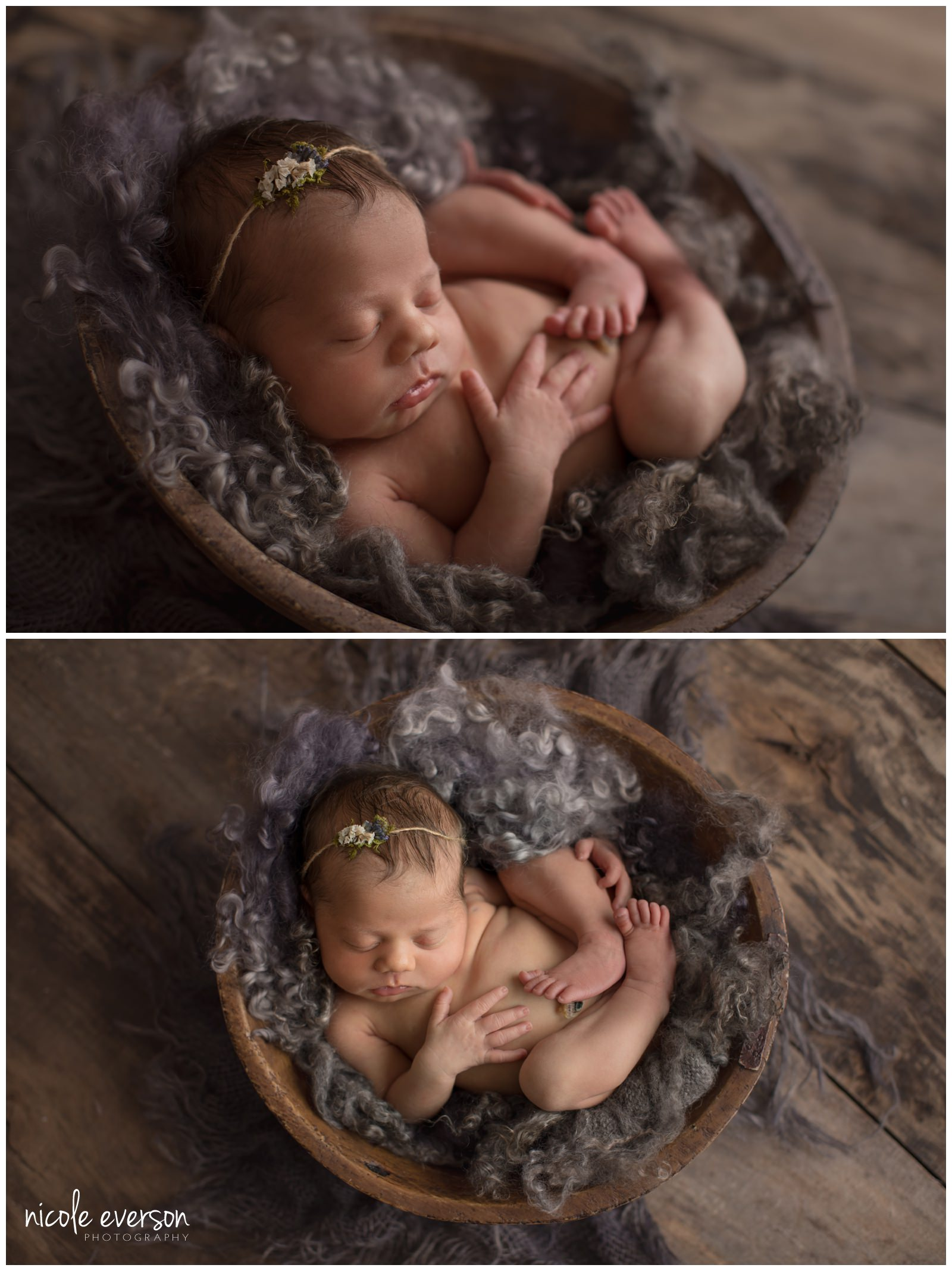 sweet baby girl photographed in Tallahassee Florida by Nicole Everson Photography
