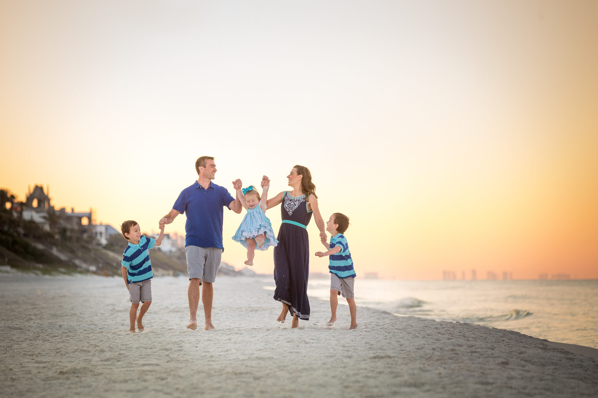 family photographer seaside beach