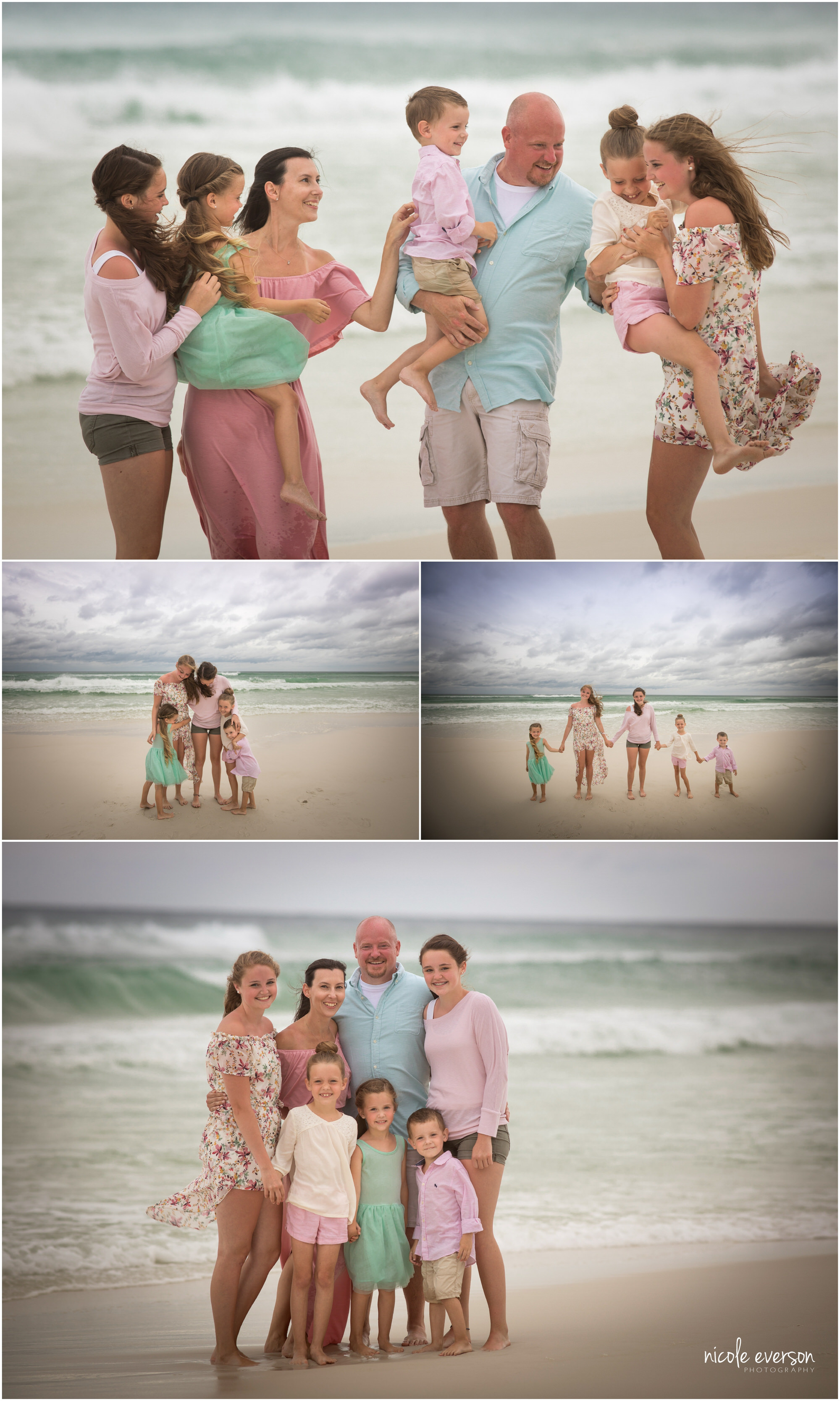 fun beach photos by Nicole Everson Photography