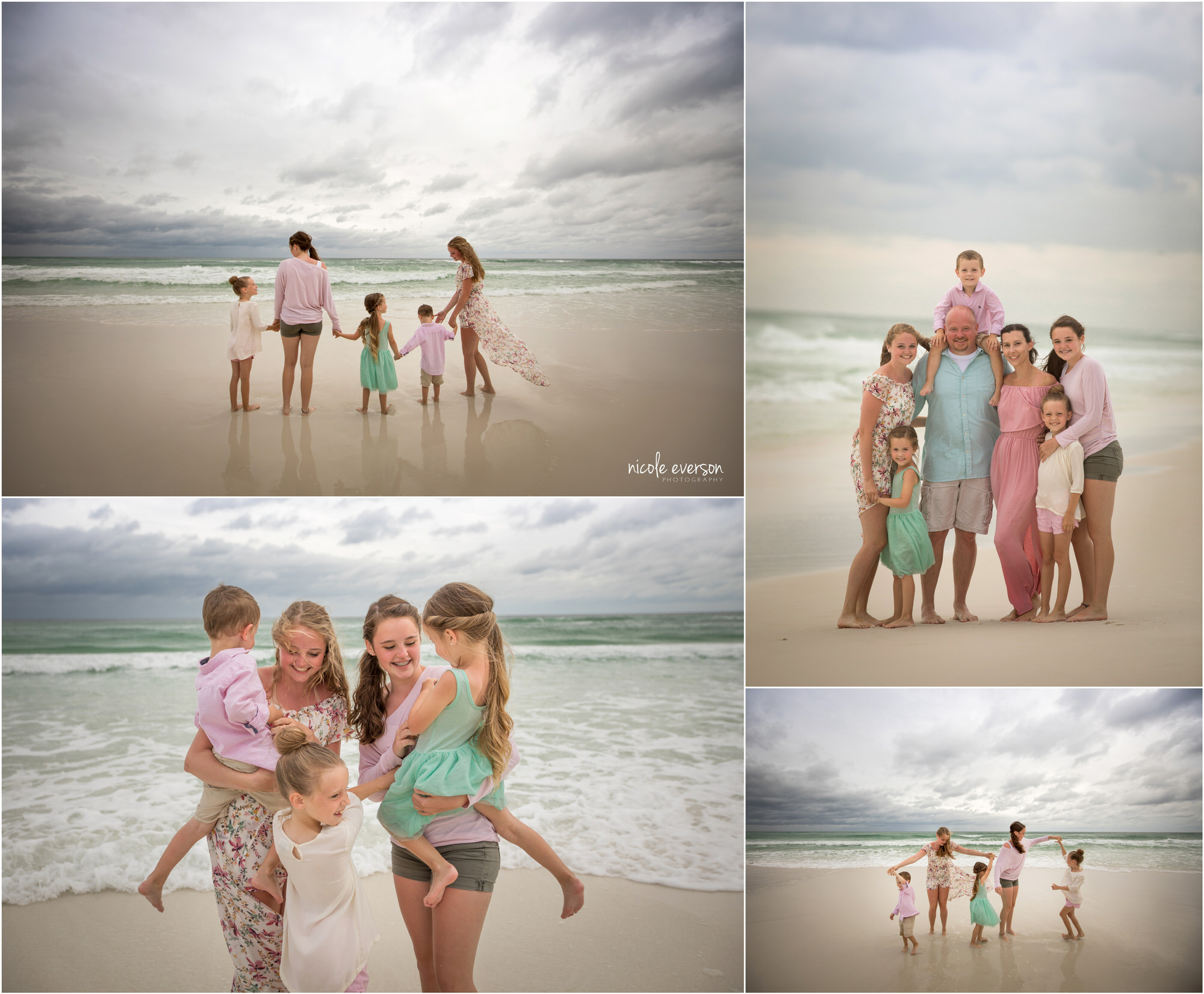 fun beach photos in Destin Florida
