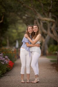 senior twin photography