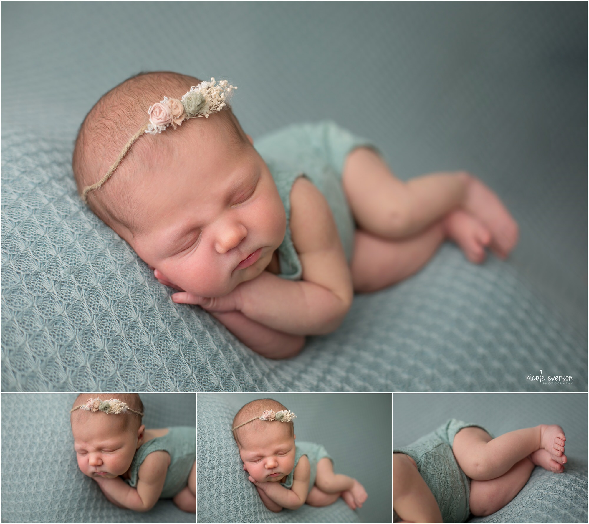 newborn pictures Nicole Everson Photography newborn studio