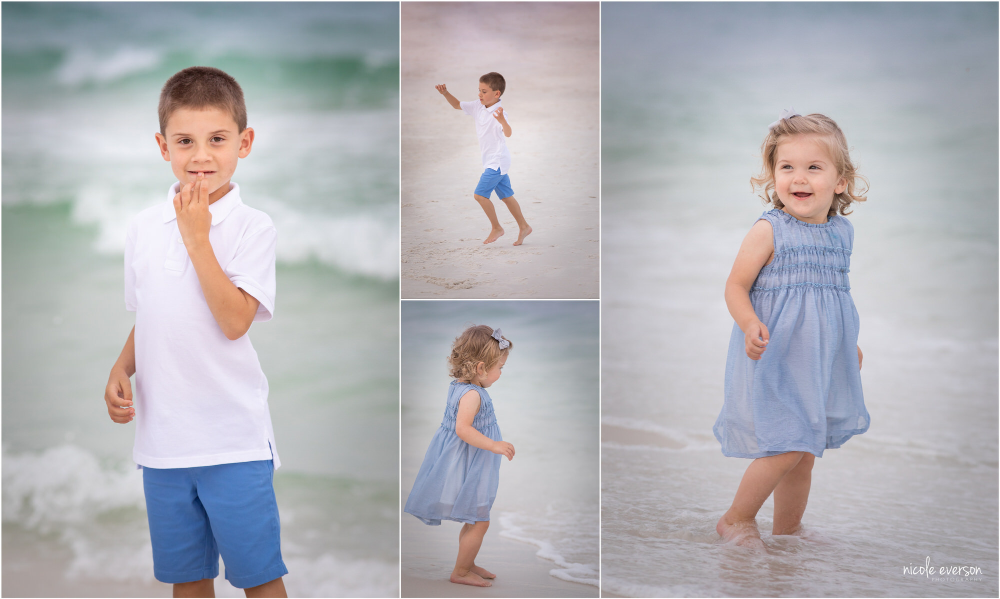 beach photography by Nicole Everson Photography Destin fl