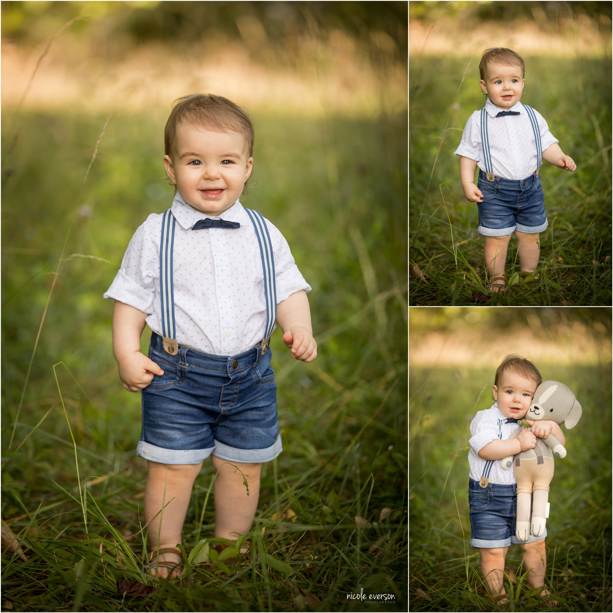 baby photos and toddler pictures of a baby boy in a white shirt and suspenders