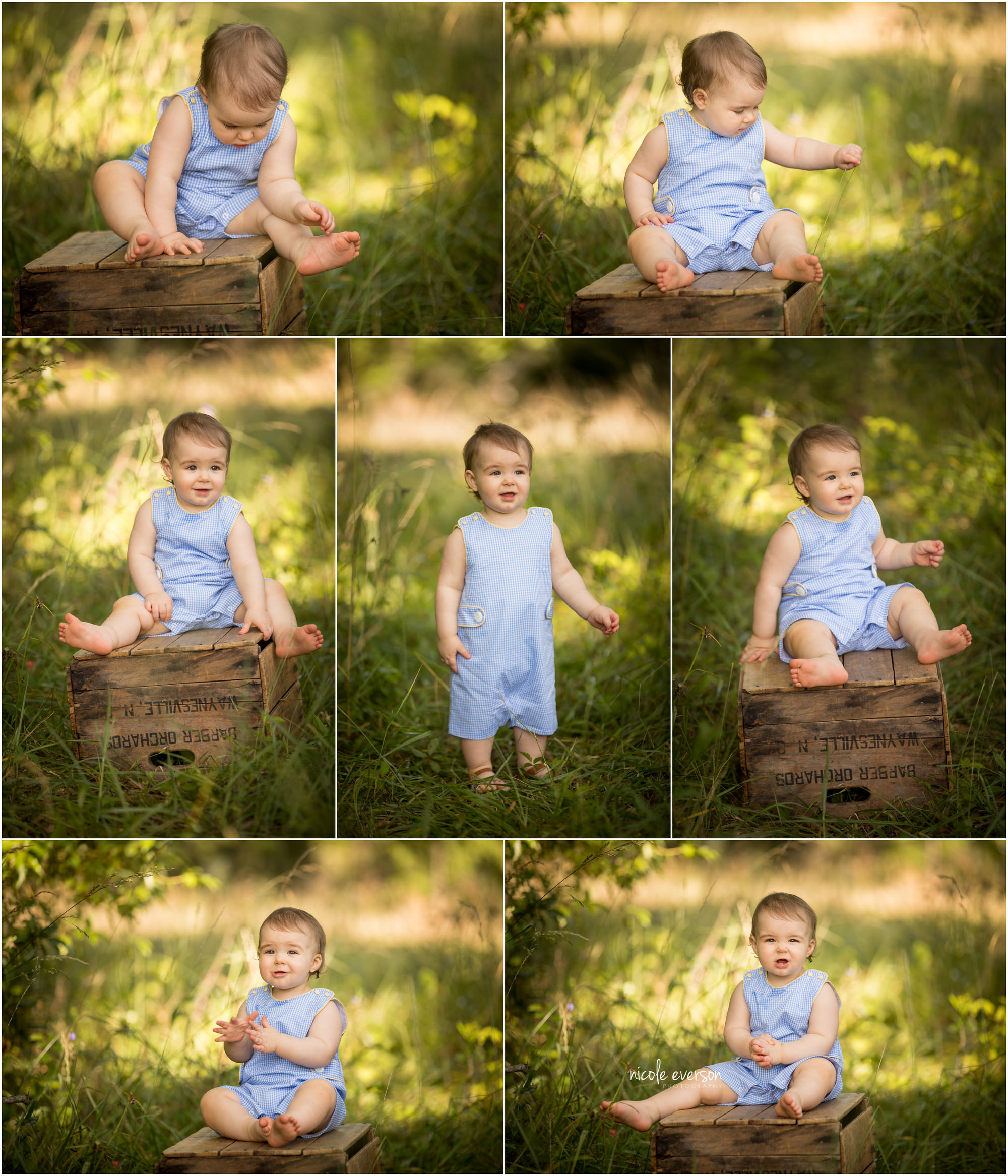 baby boy photography in a overgrown field Marianna Florida photographer