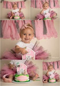 baby smash cake session