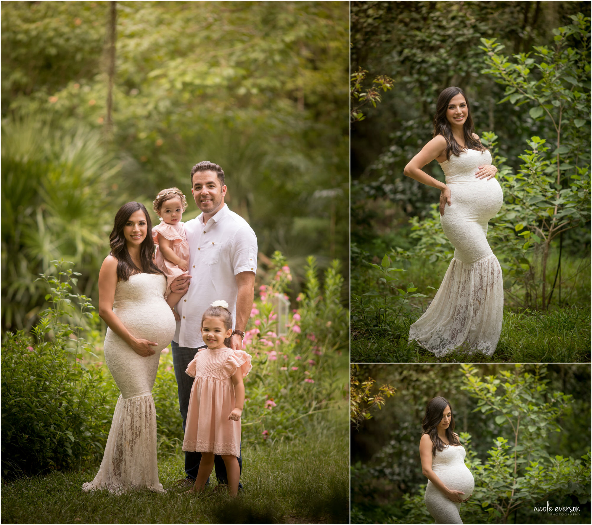 pictures of a pregnant mom of three