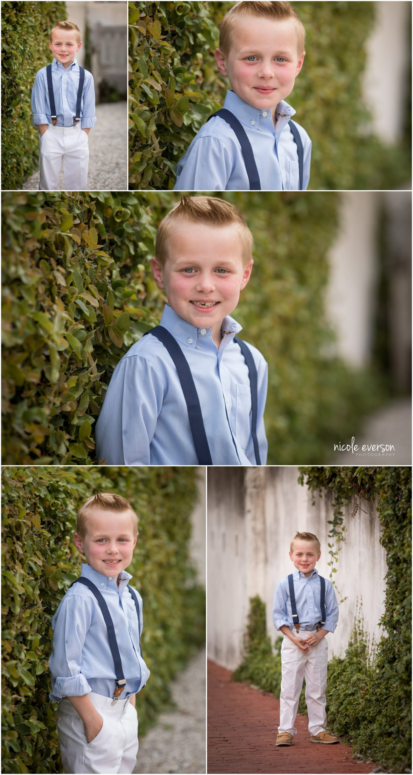 Little brother, Rosemary Beach family photos. Nicole Everson Photography.