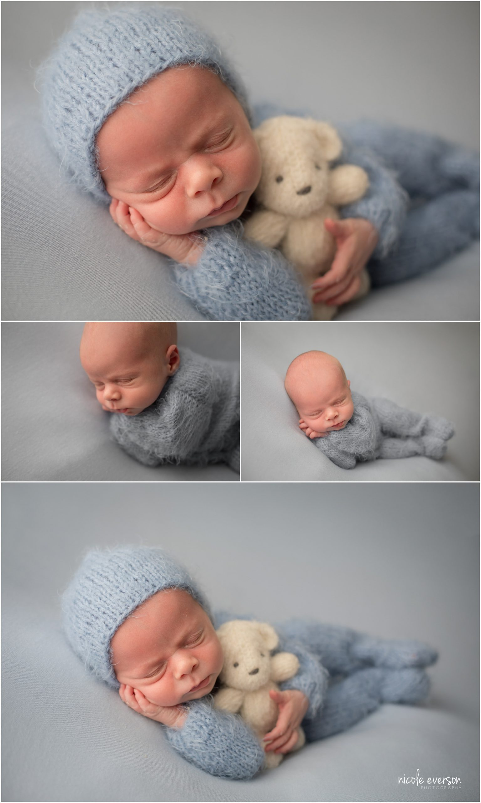 newborn photos by Nicole Everson Photography