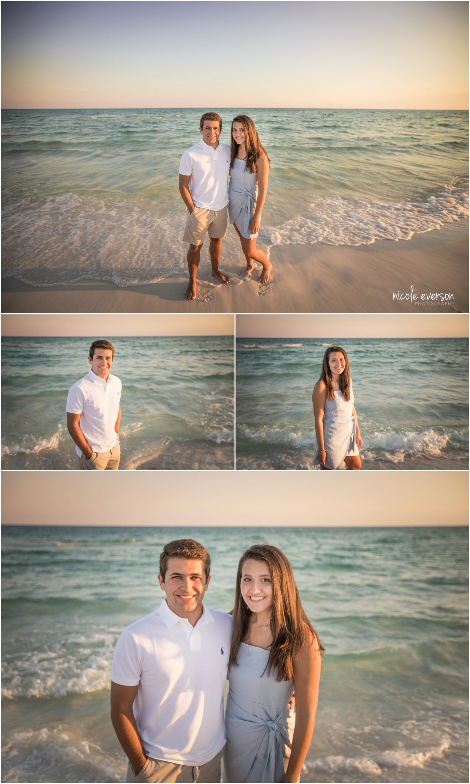 sibling beach photos