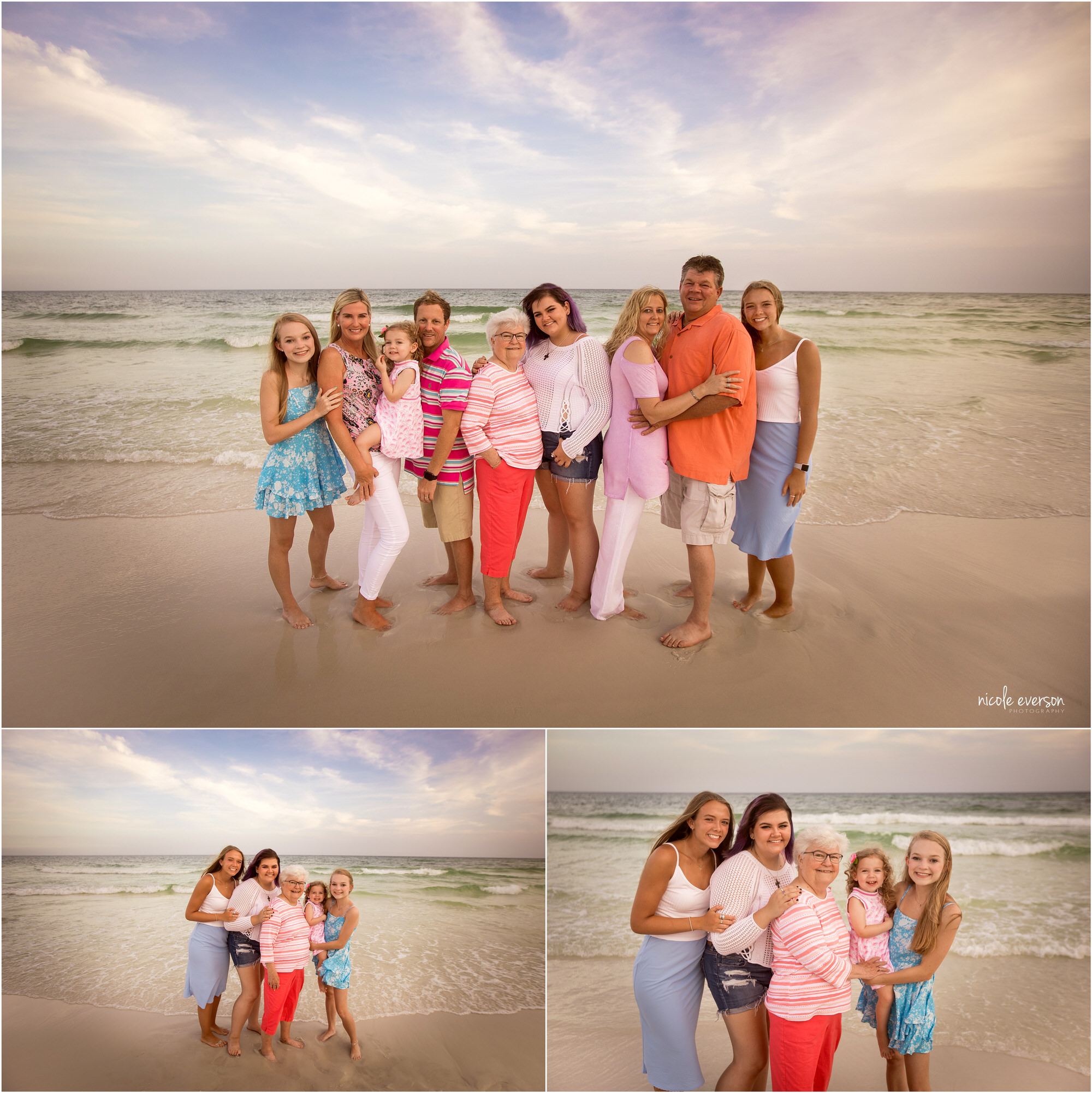beach family destin photographer