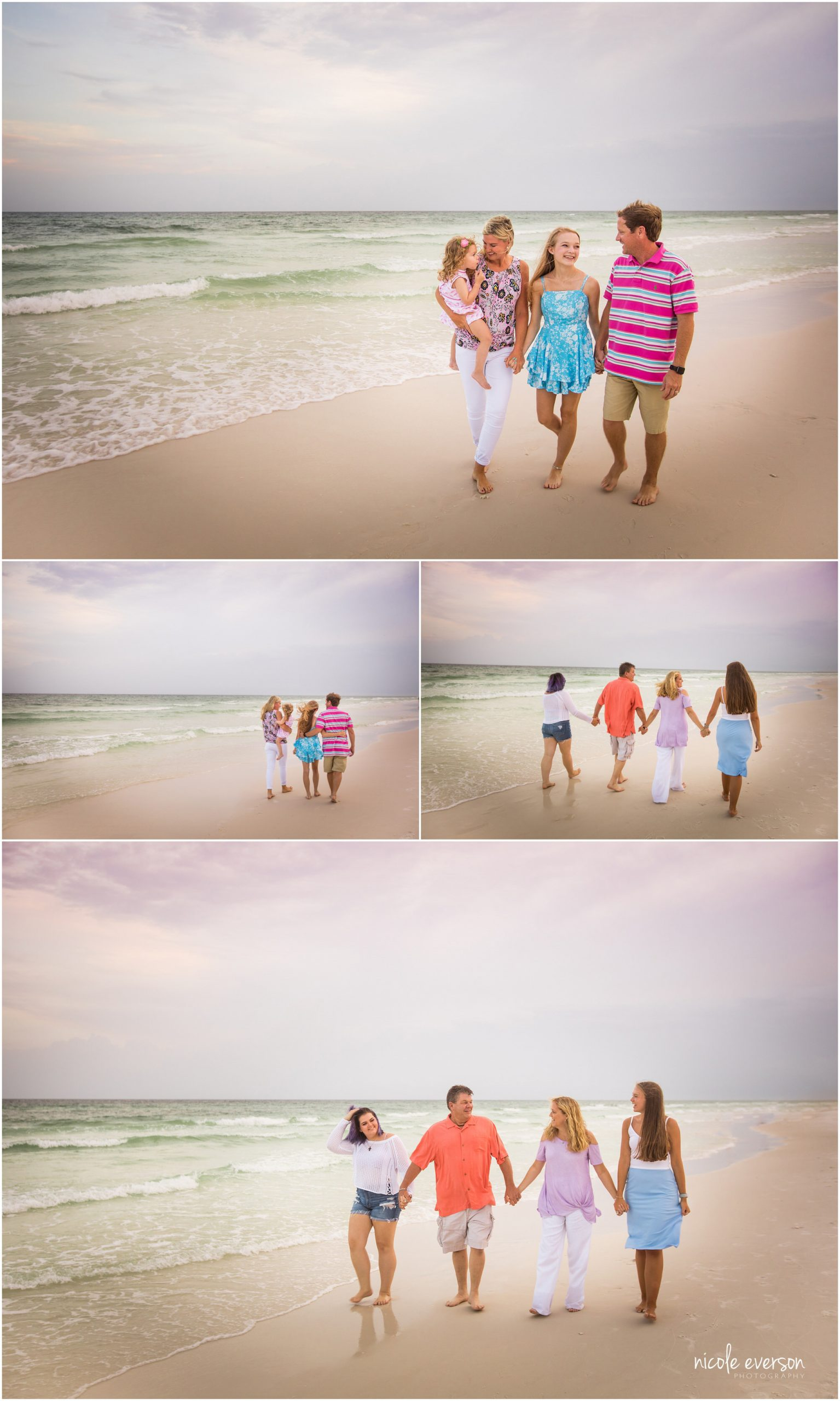 fun family beach photo ideas