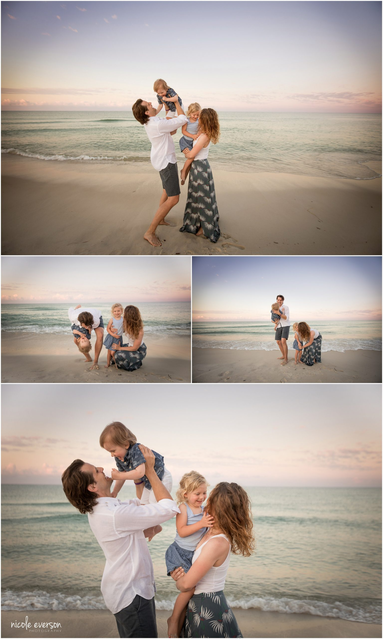 family photos on rosemary beach