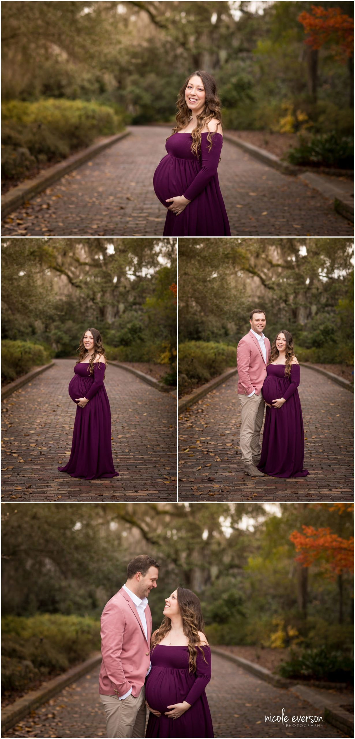 photos of a pregnant momma photographed in Tallahassee by Nicole Everson Photography