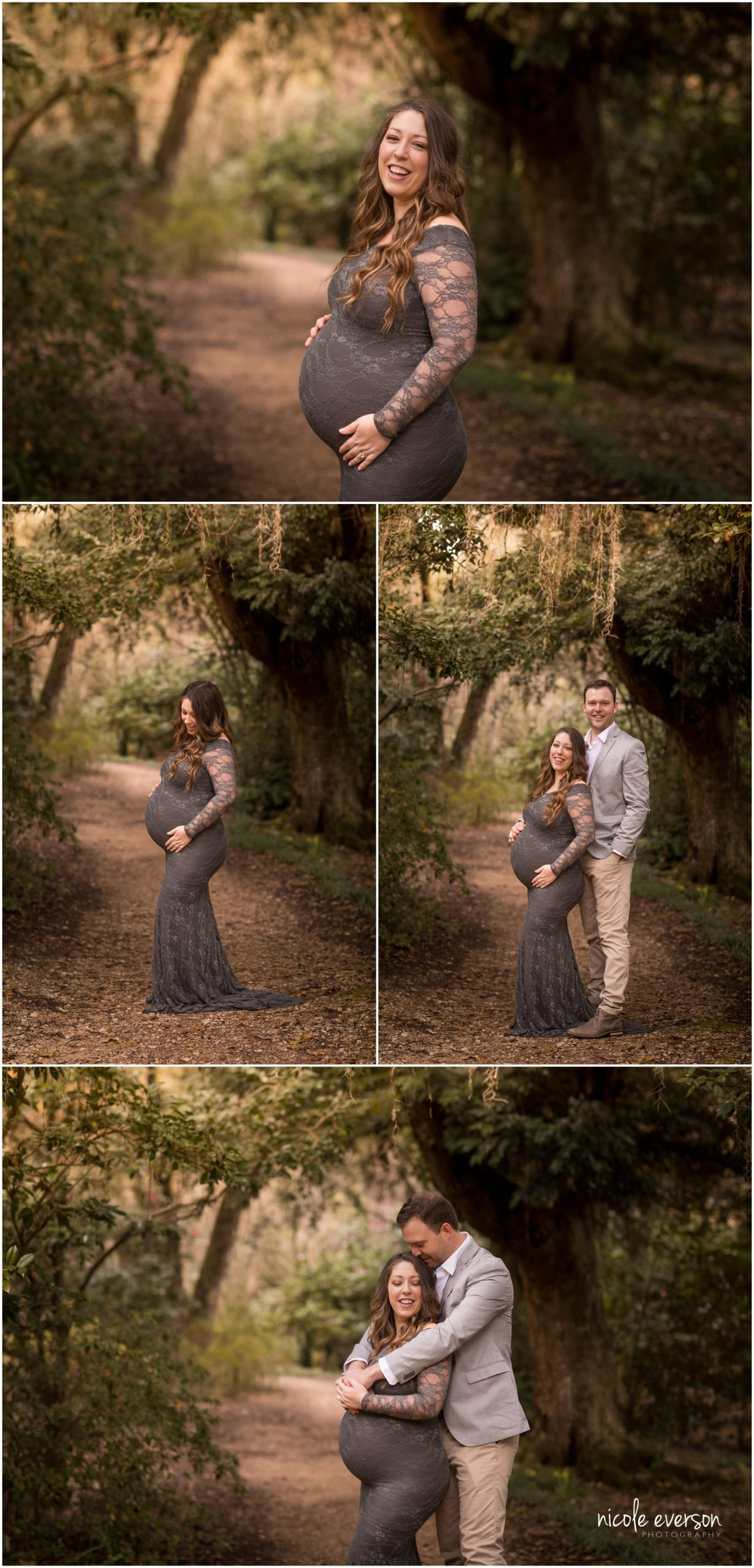 maternity photography at McClay gardens in Tallahassee FL by Nicole Everson Photography