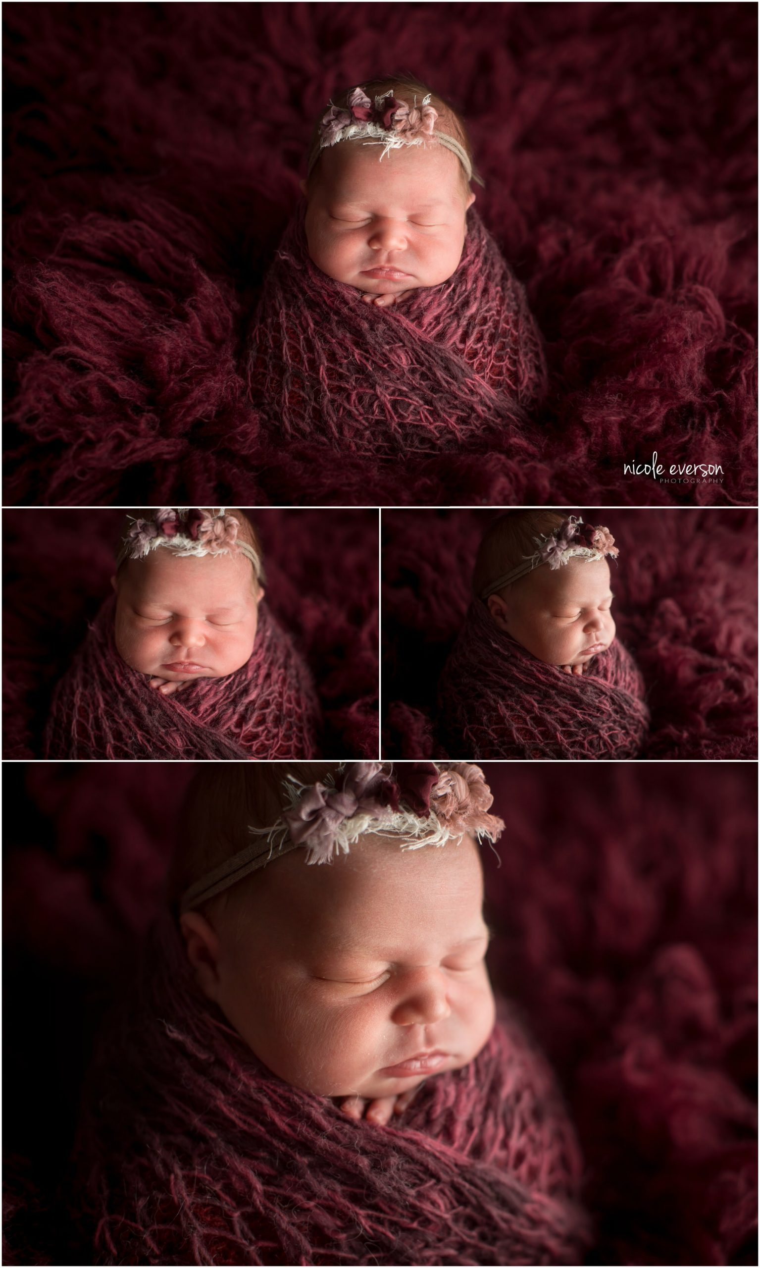 in-home newborn photography session in Tallahassee Florida