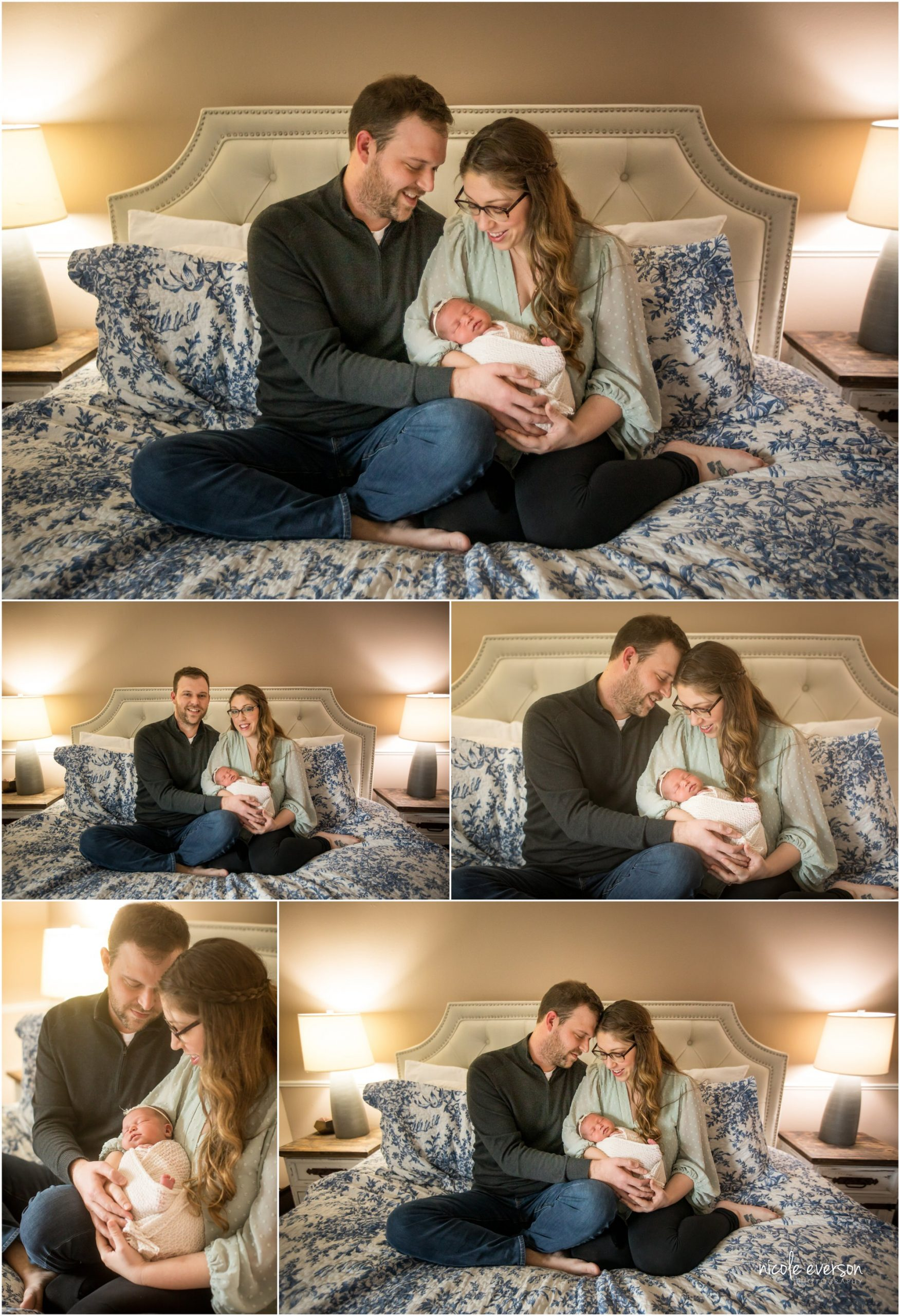 Tallahassee newborn lifestyle photographer Nicole Everson Photography