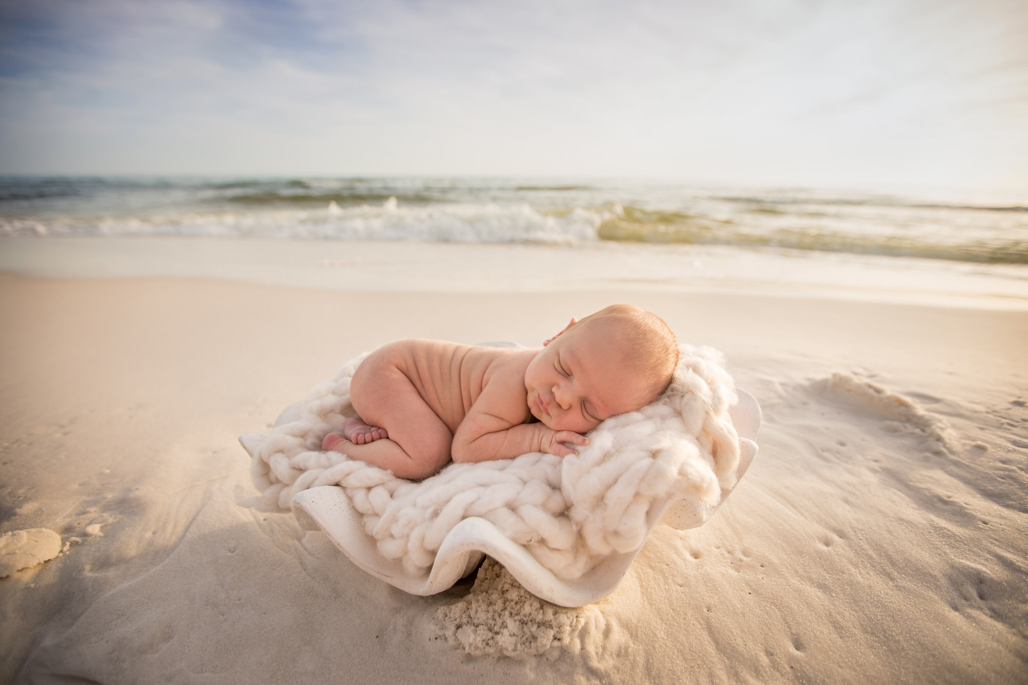 santa rosa beach newborn photos
