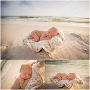 newborn beach photographer nicole everson photography