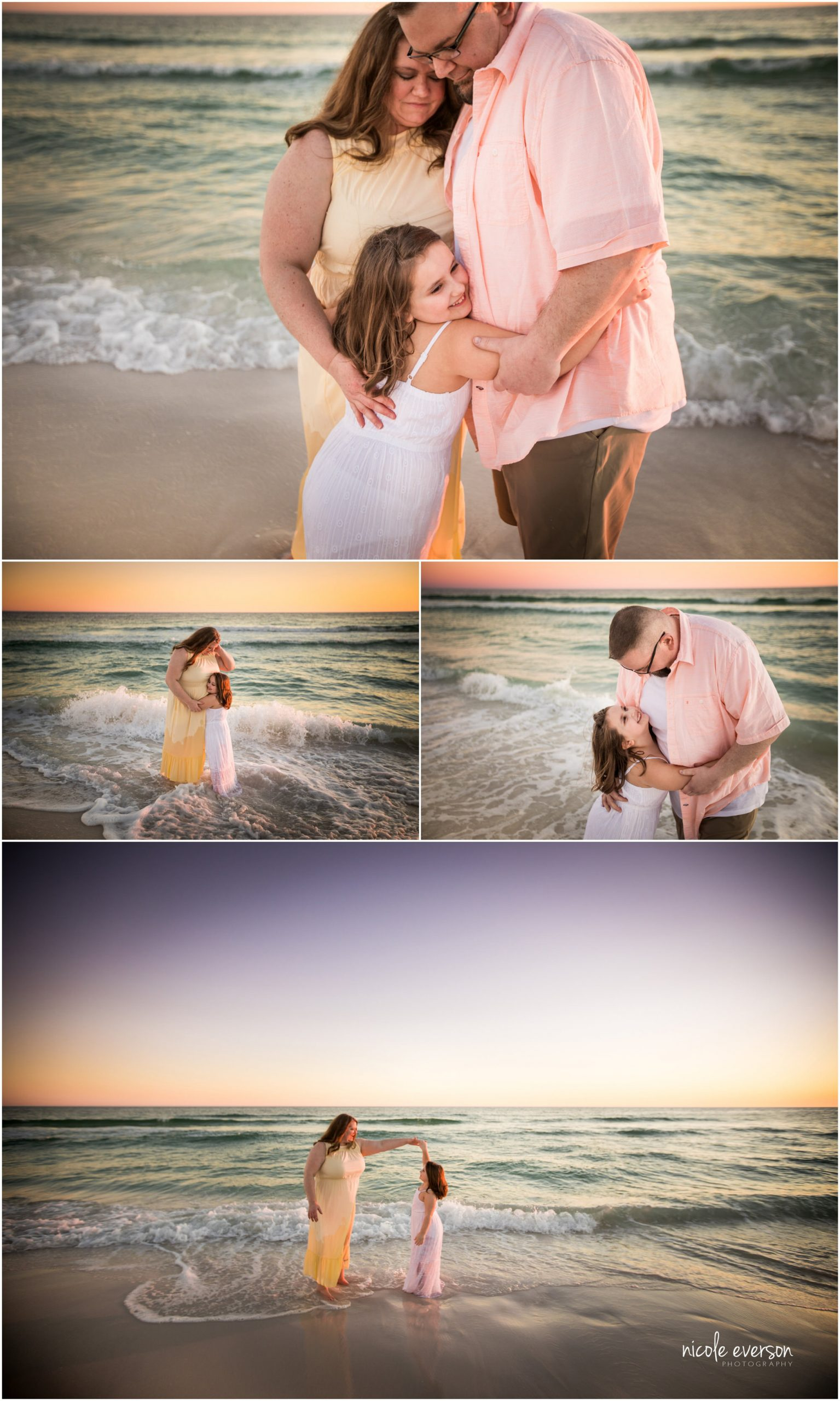 beach photography by Nicole Everson Photography