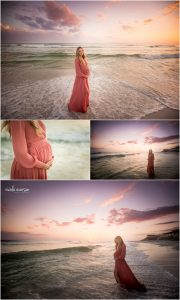 alys beach maternity photoshoot