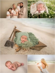 newborn photography taken Destin Florida by Nicole Everson Photography