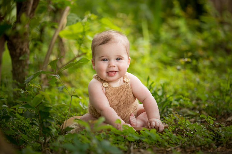 baby photos in Tallahassee photographed by Nicole Everson Photography